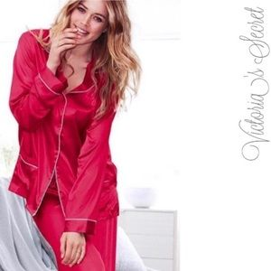 Victoria's Secret Angel Satin Pajama Set